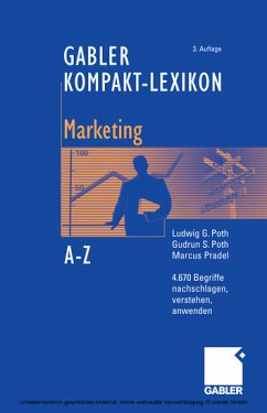 Gabler Kompakt-Lexikon - Marketing (eBook) - Ludwig G. Poth, Gudrun S. Poth, Marcus Pradel