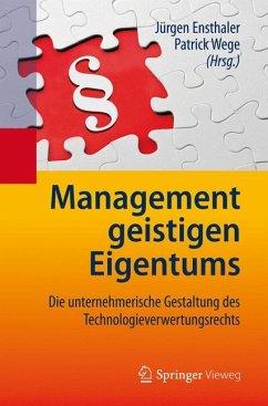 Management geistigen Eigentums - Management geistigen Eigentums