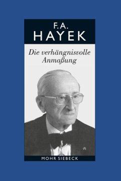 Gesammelte Schriften in deutscher Sprache - Hayek, Friedrich A.