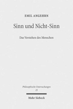 Sinn und Nicht-Sinn - Angehrn, Emil