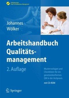 Arbeitshandbuch Qualitätsmanagement - Johannes, Heike; Wölker, Theresia