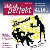 Deutsch lernen Audio - Im Restaurant (MP3-Download)