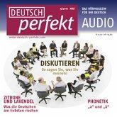 Deutsch lernen Audio - Diskutieren (MP3-Download)