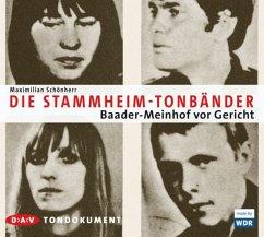 Die Stammheim-Bänder (MP3-Download) - Schönherr, Maximilian