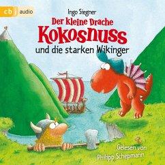 Der kleine Drache Kokosnuss und die starken Wikinger / Die Abenteuer des kleinen Drachen Kokosnuss Bd.14 (MP3-Download) - Siegner, Ingo