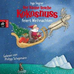 Der kleine Drache Kokosnuss feiert Weihnachten / Die Abenteuer des kleinen Drachen Kokosnuss Bd.2 (MP3-Download) - Siegner, Ingo