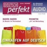 Deutsch lernen Audio - Einkaufen auf Deutsch (MP3-Download)