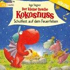 Schulfest auf dem Feuerfelsen / Die Abenteuer des kleinen Drachen Kokosnuss Bd.5 (MP3-Download)