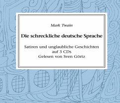 Die schreckliche deutsche Sprache (MP3-Download) - Twain, Mark