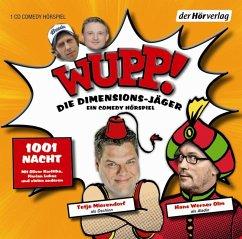 Wupp! 2. Die Dimensions-Jäger. Ein Comedy-Hörspiel (MP3-Download) - Lüftner, Kai