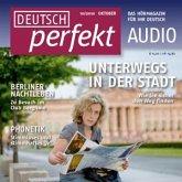 Deutsch lernen Audio - Unterwegs in der Stadt (MP3-Download)