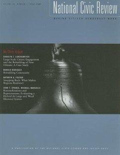 National Civic Review, Volume 96, Number 3 - Herausgeber: McGrath, Michael