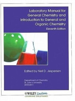 Laboratory Manual for General Chemistry 11th Edition for St. John's University