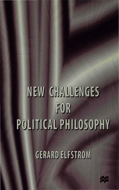 New Challenges for Political Philosophy - Elfstrom, G.