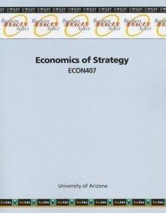 Economics of Strategy: ECON407 - Herausgeber: XanEdu Publishing