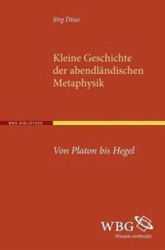 Kleine Geschichte der abendländischen Metaphysik - Disse, Jörg