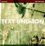 Text Und Ton (2lp+Cd)