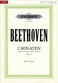 2 Sonaten für Klavier g-Moll u. G-Dur op.49 Nr.1-2