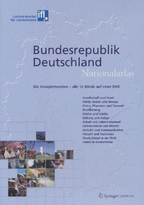 Bundesrepublik Deutschland, Nationalatlas, 1 DVD-ROM