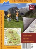 Hinteres Ötztal 1 : 35 000 Luftbildpanorama & Wanderkarte