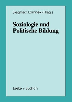 Soziologie und Politische Bildung - Lamnek, Siegfried (Hrsg.)