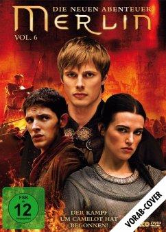 Merlin - Die neuen Abenteuer - Staffel 3.2 (Vol. 6) - Morgan,Colin/James,Bradley