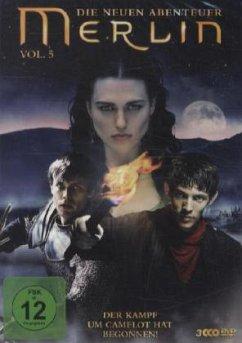Merlin - Die neuen Abenteuer - Staffel 3.1 (Vol. 5) DVD-Box - Morgan,Colin/James,Bradley