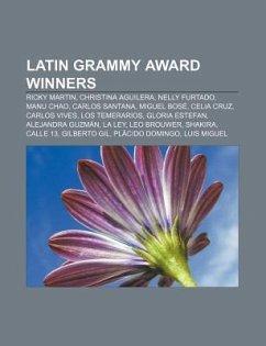 Latin Grammy Award winners