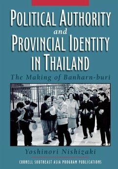 Political Authority and Provincial Identity in Thailand