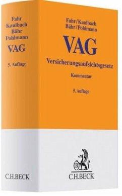 Versicherungsaufsichtsgesetz (VAG), Kommentar
