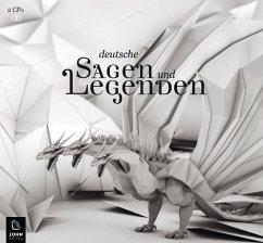 Deutsche Sagen und Legenden, 2 Audio-CDs