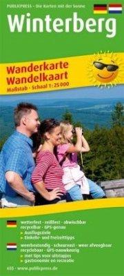 PublicPress Wanderkarte Winterberg; PublicPress...