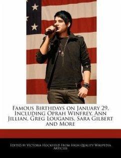 Famous Birthdays on January 29, Including Oprah Winfrey, Ann Jillian, Greg Louganis, Sara Gilbert and More - Hockfield, Victoria