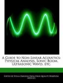 A Guide to Non-Linear Acoustics: Physical Analysis, Sonic Boom, Ultrasonic Waves, Etc.