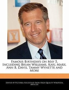 Famous Birthdays on May 5, Including Brian Williams, Karl Marx, Ann B. Davis, Tammy Wynette and More - Hockfield, Victoria