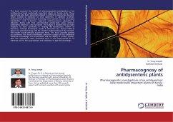 Pharmacognosy of antidysenteric plants