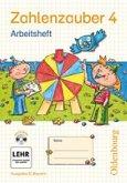 Zahlenzauber 4 Ausgabe E. Arbeitsheft mit CD-ROM