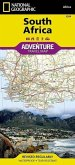 National Geographic Adventure Travel Map South Africa