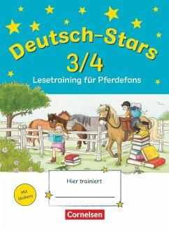 Deutsch-Stars 3./4. Schuljahr. Lesetraining für Pferdefans