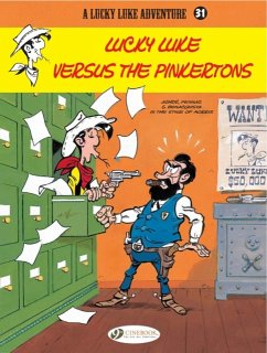 Lucky Luke versus the Pinkertons - Pennac, Daniel; Benacquista, Tonino
