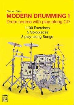 Modern Drumming, w. Audio-CD, English edition - Stein, Diethard