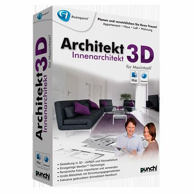 architekt 3d innenarchitekt f r mac download f r mac. Black Bedroom Furniture Sets. Home Design Ideas