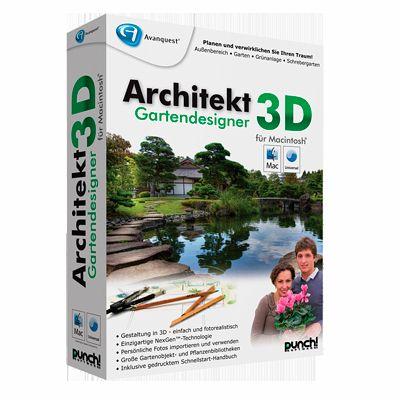 Architekt 3d gartendesigner f r mac download f r mac for Software gartenplanung mac