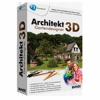 architekt 3d gartendesigner f r windows download f r windows. Black Bedroom Furniture Sets. Home Design Ideas