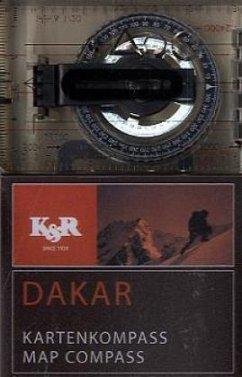Kartenkompass Dakar