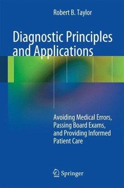 Diagnostic Principles and Applications - Taylor, Robert B.