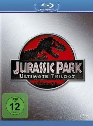 Jurassic Park Ultimate Trilogy, 3 Blu-rays