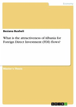 What is the attractiveness of Albania for Foreign Direct Investment (FDI) flows?