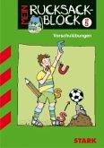 Rucksackblock Vorschule Fußball