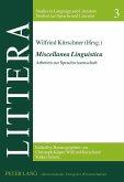 Miscellanea Linguistica